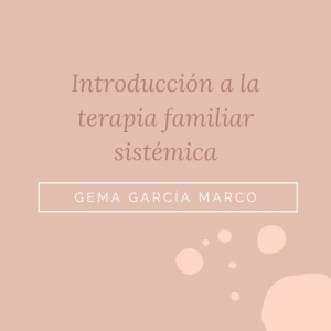 Curso terapia familiar sistémica